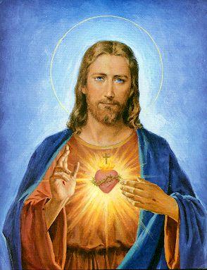 Foto del Corazon de Jesus
