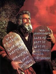 imagen de los 10 mandamientos
