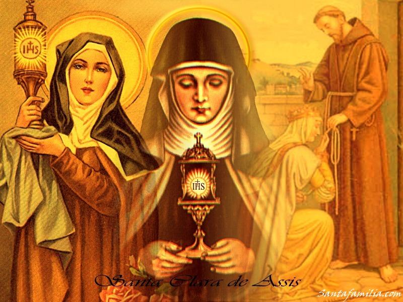 Oracion a Santa Clara de Asis